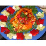 Курица с осенними овощами