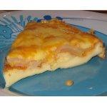 Грушевый пирог с соленым сыром