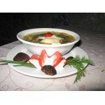 Густой суп из баклажанов