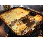 Запеканка картофельная с мясом и грибами