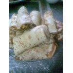 Блинчики с мясом и рисом