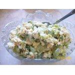 Салат из кабачков и цветной капусты