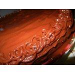 Шоколадный торт Захер