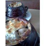 Горшочек с картофелем и мясом