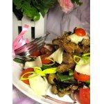 Теплый салат из печени от МаRковича