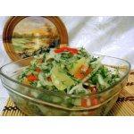 Салат из маринованного перца
