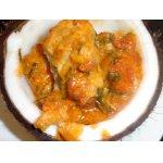 Рыбное филе в маринаде под овощным соусом