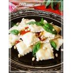Домашние равиоли с сырной начинкой и орешками