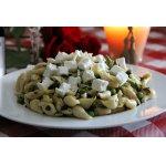 Asparagus and peas conchiglie - Ракушки с аспарагусом и горошком