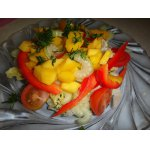 Салат с манго Праздник