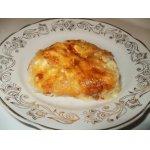 Картофельная запеканка с плавленным сырком