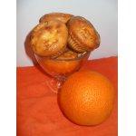 Маффины апельсиновые на сметане