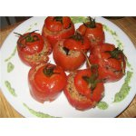 Запеченные помидоры с гречневыми хлопьями