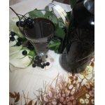 Настойка из черноплодной рябины с медом