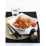 Креветки с соевым соусом и перцем