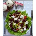 Салат со свекольным желе -кг