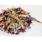 Салат из краснокочанной капусты с курицей