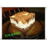 Творожный пирог с какао