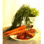 Витаминные морковно-ореховые котлеты