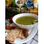 Суп из брокколи на копченой курице