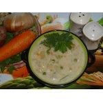 Густой молочный суп с овощами