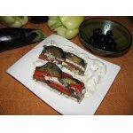 Пирог из баклажанов с фетой