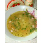 Суп со спаржевой фасолью