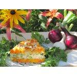 Морковный пирог с курицей Завтрак на траве