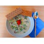 Грибной суп с азиатским приветом