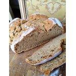 Быстрый пшенично-ржаной хлеб