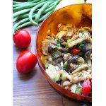 """Салат-закуска из  маринованных овощей """"Летний микс"""""""