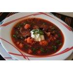 Грибной суп с черносливом