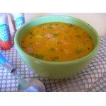 Душистый суп с куриным бедром
