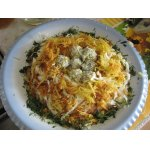 Салат с курицей Семейное гнездышко