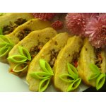 Рыбный рулет-суфле с перично-грибной начинкой