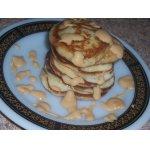 Оладьи с сыром рикотта и бананом