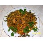 Рис с овощами и куриным филе (фантазия на тему ризотто)