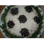 Салат из тунца Футбол