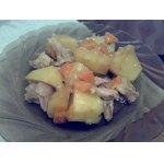 Картошка с курицей
