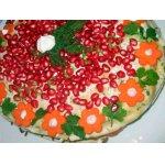 Закусочный торт Салют