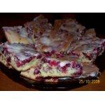Брусничный пирог Нежность