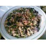 Салат с морепродуктами Неординарное сочетание