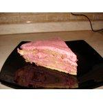 Сметанно-вишнeвый торт