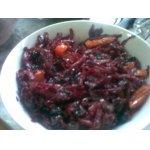 Свекольный салат с сухофруктами