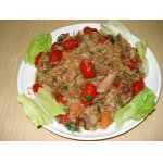 Салат горячий с курицей