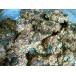 Овсяное печенье с изюмом и клубникой