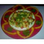 Салат с авокадо и грушей
