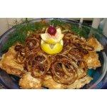 Маслянная рыбка с колечками