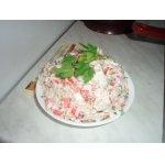 Салат с рамбутаном