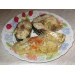 Пеленгас с овощами